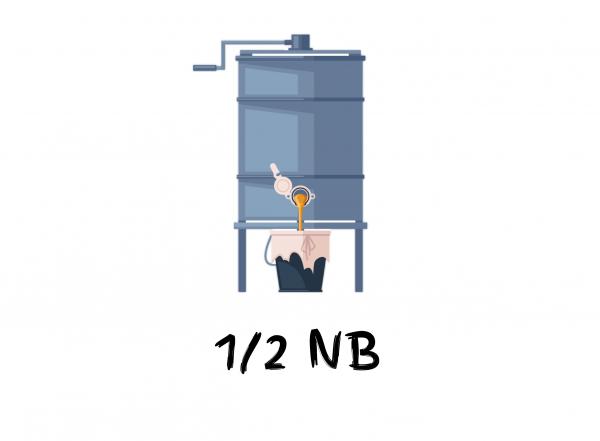 Mézpergető 1/2 NB keretekhez